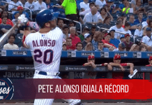 Pete Alonso iguala récord