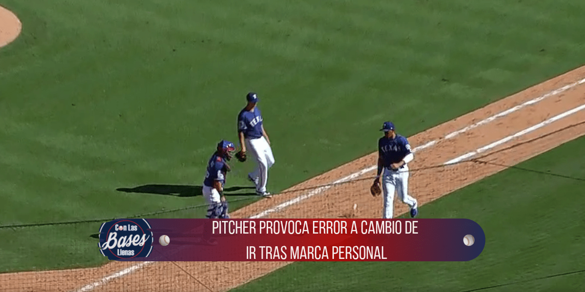 Mike Minor provoca error a cambio de marca personal