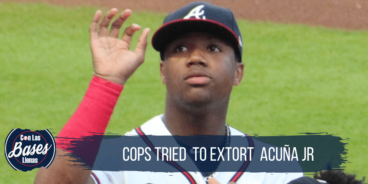 Cops tried to extort Ronald Acuna Jr