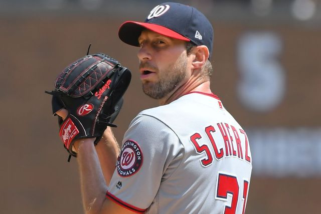 Scherzer ha sido una pieza fundamental para los Nationals