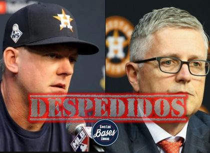 Los Astros despiden a GM Jeff Luhnow y al mánager AJ Hinch