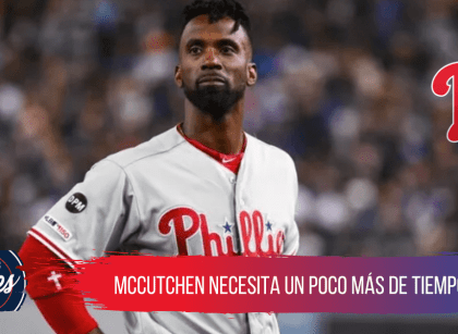 Andrew McCutchen no estará con los Phillies hasta abril