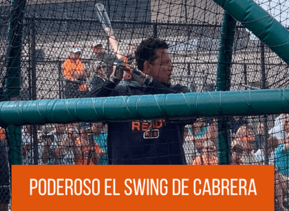 Video: Miguel Cabrera recuperó su swing