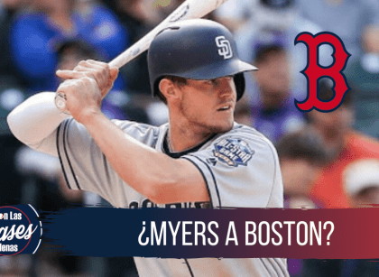Red Sox y Padres conversan para que Wil Myers llegue a Boston