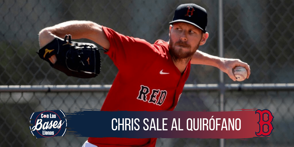 Chris sale se perdera la temporada 2020