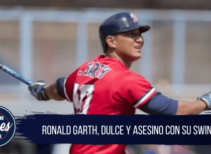 Ronald Garth, dulce y terrible con su swing elegante