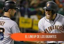 El posible lineup de San Francisco