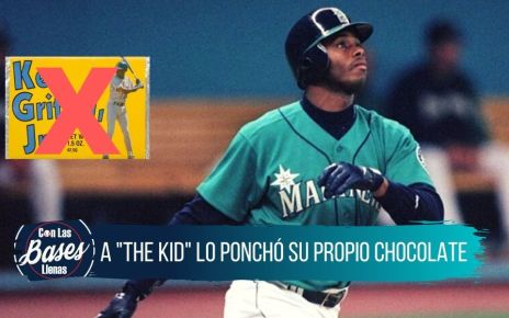 Ken Griffey Jr. tuvo su propia barra de chocolate
