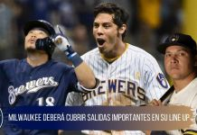 Posible line up de los cerveceros de milwaukee