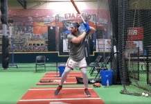 Bryce Harper sigue entrenando MUY duro y afinando su swing (VIDEO)