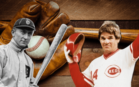 Ty Cobb y Pete Rose