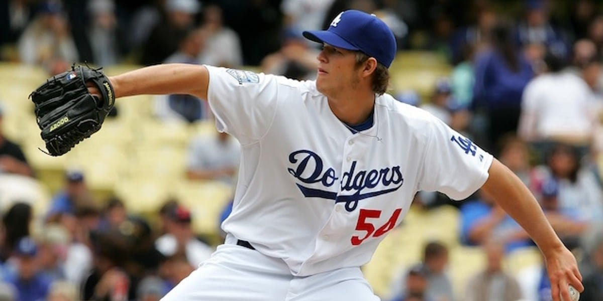 El debut de Clayton Kershaw