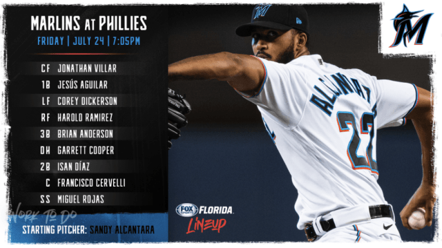 Marlins vencieron a Phillies en Opening Day