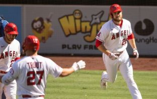 Jared Walsh, de Los Angeles Angels