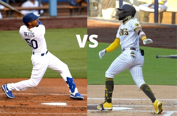 Dodgers y Padres lineups