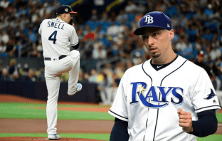 Blake Snell Rays yankees opciones