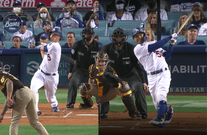 Mookie Betts y Corey Seager arman back-to-back con Dodgers