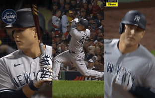 Anthony Rizzo rompe blanqueada con Yankees con HR