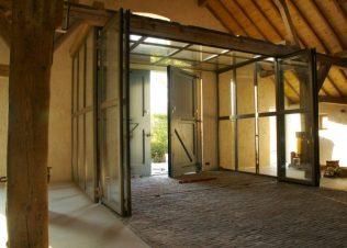Maximale doorgang bij open deuren