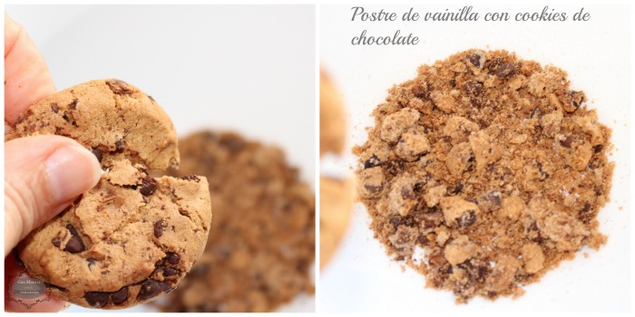 Postre de vainilla con cookies3