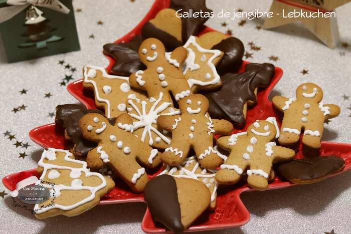 Galletas de jengibre - Lebkuchen