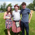 2014 Queen and Earl of Conna with Gerard O'Mahony