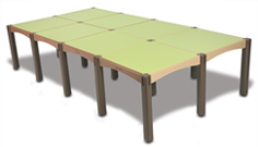 8 Panel Activity Table