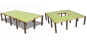 Two Modular Children's Tables