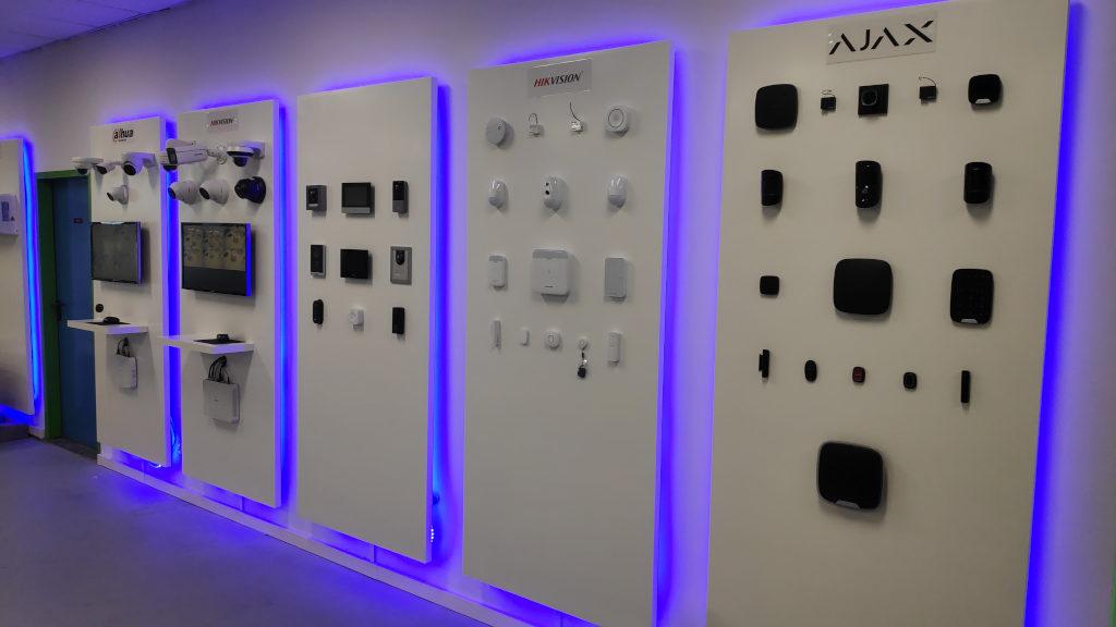 showroom beveiligingscameras