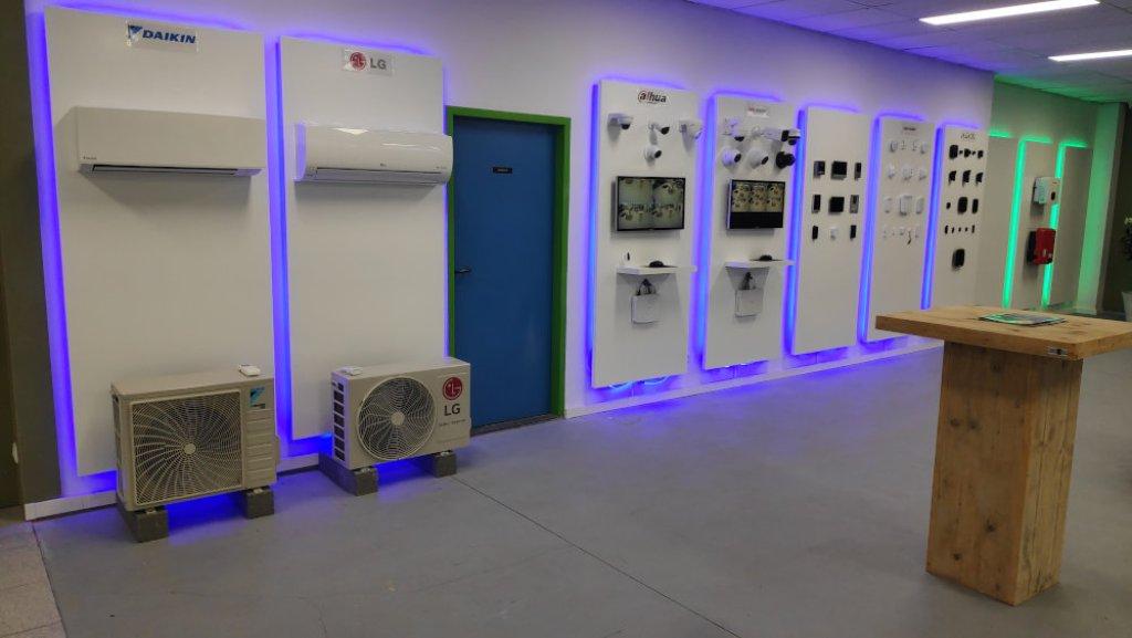 showroom beveiliging