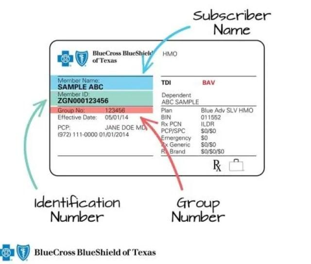 Member Id Number Bcbs