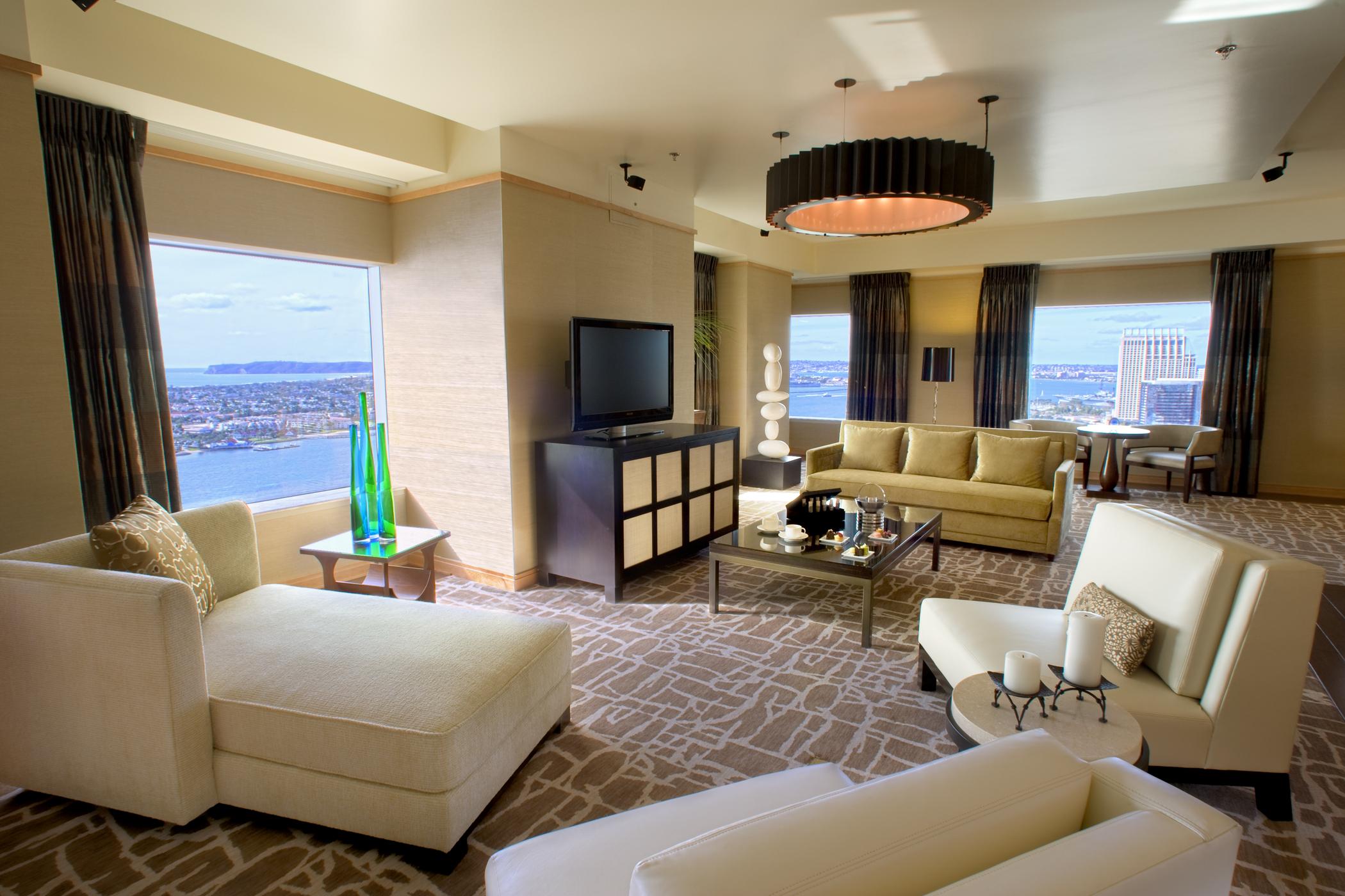 San Diego 2 Bedroom Suites Exclusive Presidential Hotel Suites In San Diego