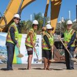 Airport Terminal 2 Groundbreaking