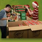 Sr. Highs at Operation Christmas Child Warehouse