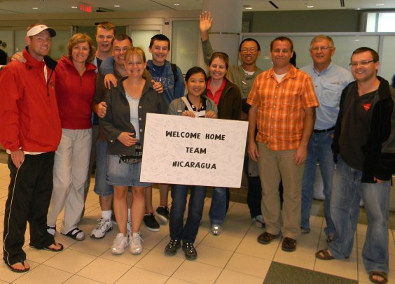 Team Nicaragua is home reduced