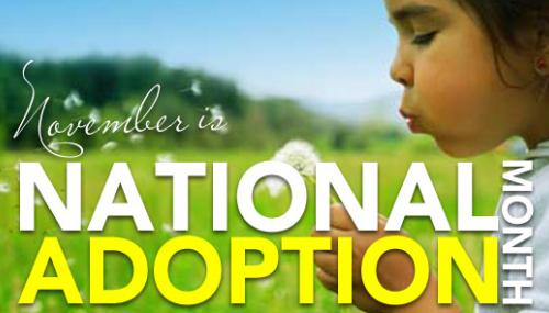 November is National Adoption Month