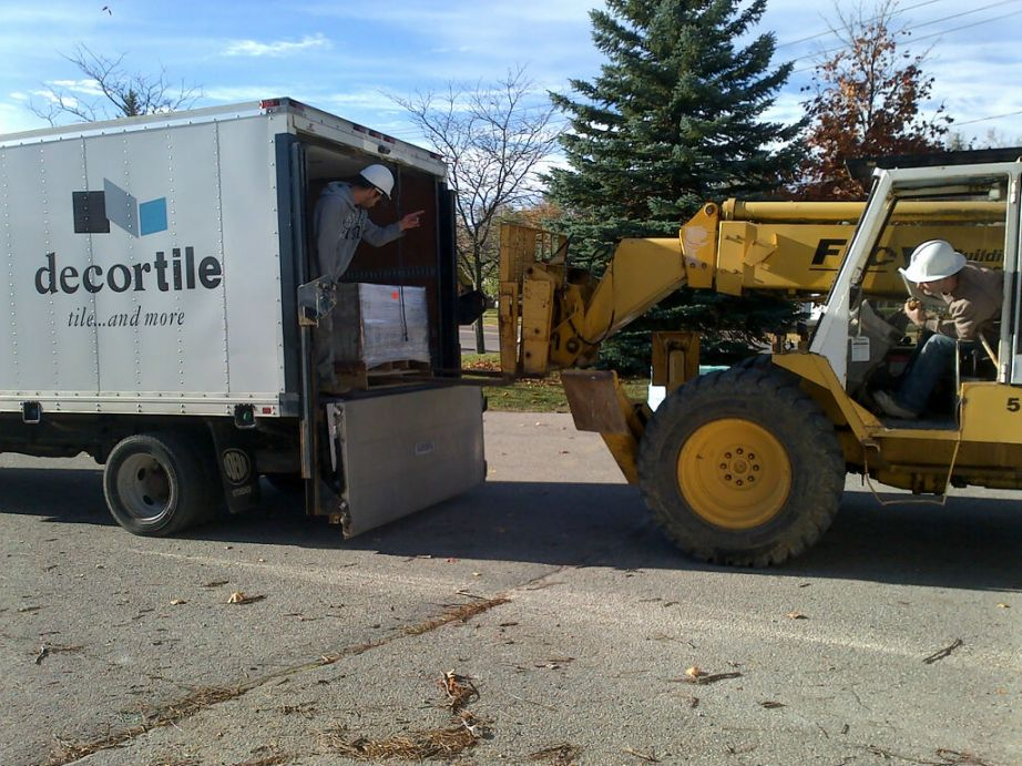 Tile delivery