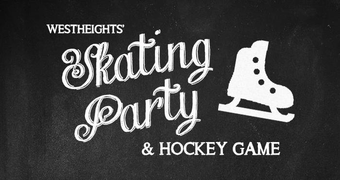 Skating Party and Hockey Game 2015