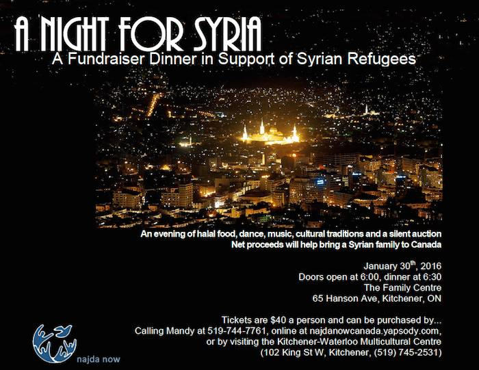 Syrian Nights poster