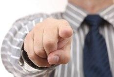 points-finger