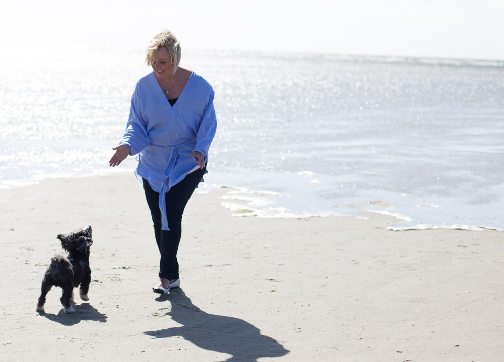 Hund dyrehealing og telepati