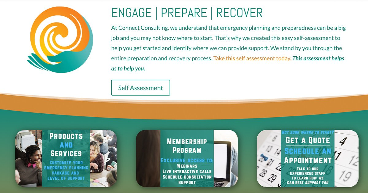 Connect Consulting Services - ENGAGE   PREPARE   RECOVER - Connect