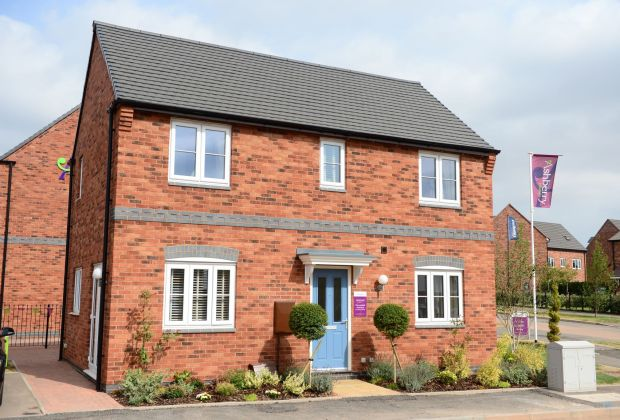 A showhome at Ashberry Homes' Oaklands development in Tamworth-1a7b3e49