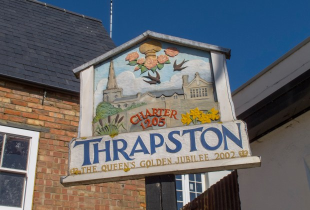 DWSM - A sign in Thrapston-61a37270