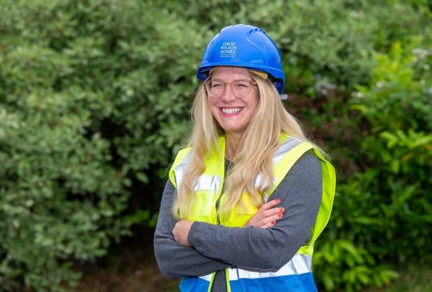 DWEM - SGB_7182 - Pride in the Job Quality award winner, Senior Site Manager Zoe Stothard-ca8a6df8