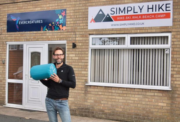 Tony Bailey Simply Hike director of operations