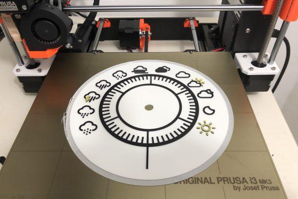 Conditions Dial 3 Colour Print