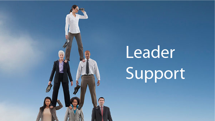 what does senior leadership support really mean coda partners