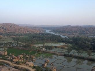 The rocky hills of Hampi
