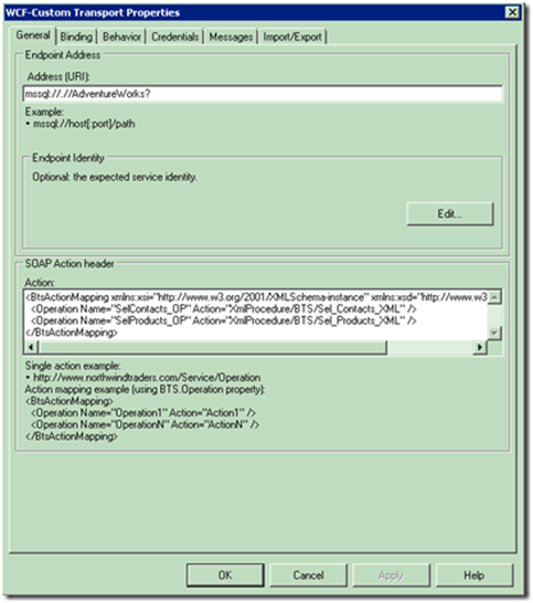 Creating a composite response schema for the BizTalk SQL WCF Adapter